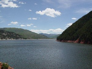 Taylor Creek Cabins Are Perfect Cabin Rentals In Colorado, For Water Sports  , Water Skiing